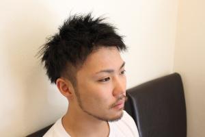 ツイストパーマ ゆるめ 強め ツーブロック 大阪 難波 理容室 メンズ美容室 リレーション