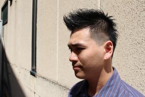 フェードカット メンズ 刈り上げ ビジネス 短髪 ショート 大阪