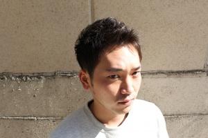 アップバングショート ツーブロック メンズ 大阪 難波 メンズ美容室 メンズサロン 理容室 リレーション
