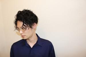 ツイストスパイラルパーマ メンズ 大阪 難波 浪速区 メンズ美容室 理容室 バーバー